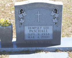 Dempsey Lee Paschall