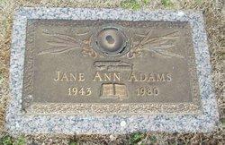 Jane Ann Adams