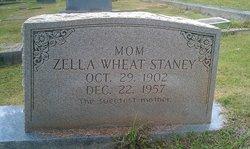 Mrs Zella <i>Wheat</i> Staney