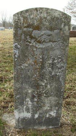 Sarah Ann <i>Meadows</i> Miner