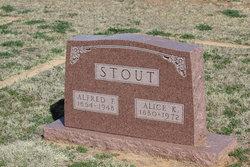 Alice Katherine <i>Crocker</i> Stout