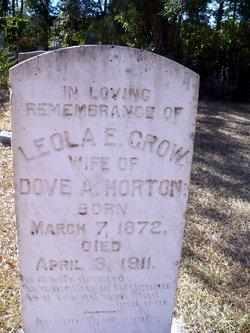 Leola Emma <i>Crow</i> Horton