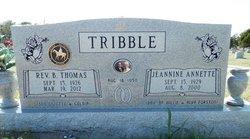 Rev Benjamin Thomas Tom Tribble