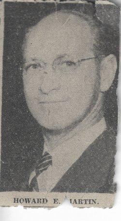 Howard E Martin