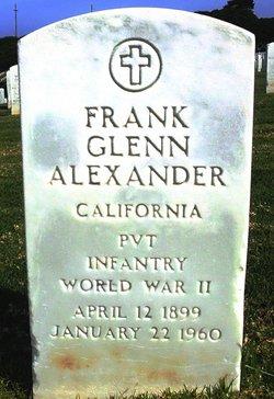 Frank Glenn Alexander