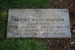 Albert Maze Hudson