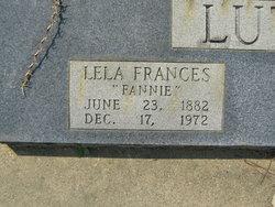 Lela Frances Fannie <i>Tilton</i> Luther