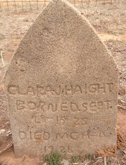 Clara J. Haight