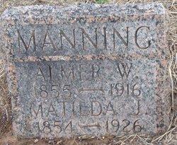 Almer W. Manning