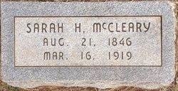 Sarah P. <i>Hedges</i> McCleary
