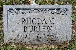 Rhoda C <i>Smith</i> Burlew