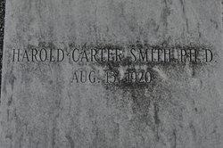 Dr Harold Carter Smith