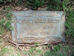 Adelaide Marie <i>Lewis</i> Abbott