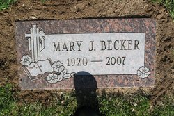 Mary Jane <i>Merkel</i> Becker