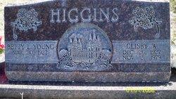 Clisby W Higgins