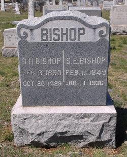 Susan Elizabeth Susie <i>Belcher</i> Bishop