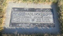 Edith Ann <i>Hobbs</i> Hadlock