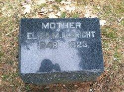 Eliza M <i>Burrell</i> Albright