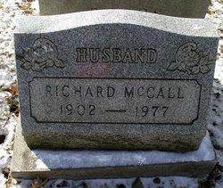Richard H McCall
