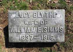 Lucy Ann Frances <i>Blythe</i> Simms