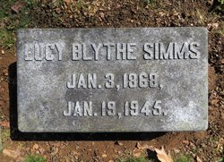 Lucy Blythe Simms