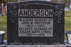 Eileen Mary <i>O'Neil</i> Anderson