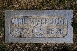 Annie M. Ackerman