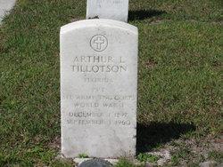 Arthur L Tillotson