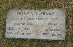 Francis A Arand