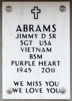 Jimmy D. Abrams, Sr