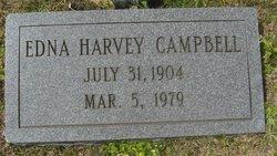 Edna <i>Harvey</i> Campbell