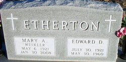 Mary A Etherton