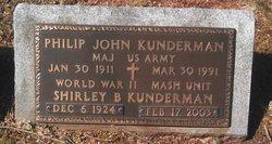 Shirley B Kunderman