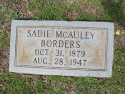 Willie Sadie <i>McAuley</i> Borders