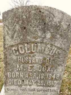 Columbus Cox