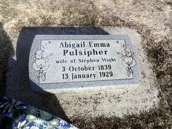 Abigail Emma <i>Pulsipher</i> Wight