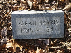 Sarah Sallie <i>Harris</i> Elliott