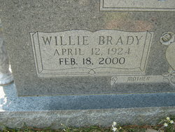Willie Emma <i>Brady</i> Tilton