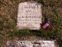 Affia Haseltine <i>Stone</i> Sheridan