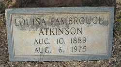 Louisa <i>Fambrough</i> Atkinson