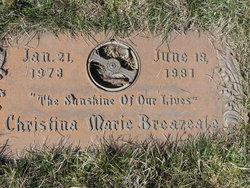 Christina Marie Breazeale