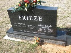 Alta Leah <i>Brown</i> Frieze