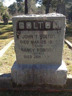 Nancy <i>Robinson</i> Bolton