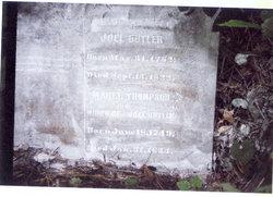 Rev Joel Butler