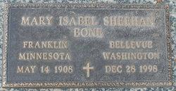 Mary Isabel <i>Sheehan</i> Bone