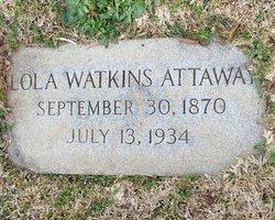 Lola <i>Watkins</i> Attaway