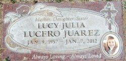 Lucy Julia <i>Lucero</i> Juarez