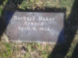 Barbara <i>Baker</i> Arnold