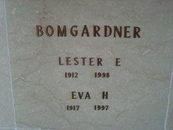 Eva B <i>Halterman</i> Bomgardner