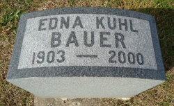 Edna <i>Kuhl</i> Bauer